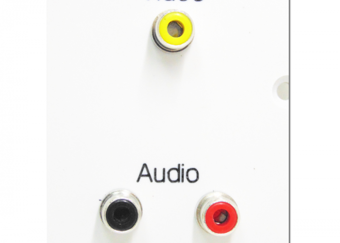 video audio SG wall plate