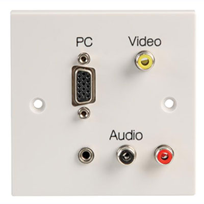 audio video custom wall plates